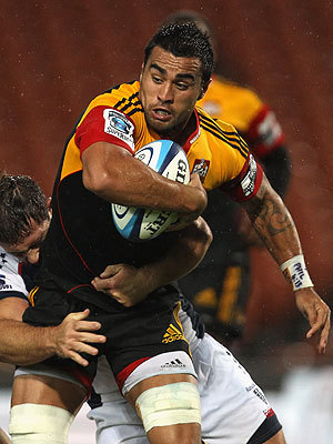 Chiefs v Highlanders Rugby Match